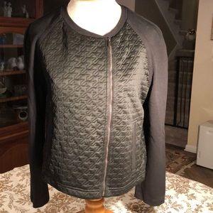 St John cropped black jacket